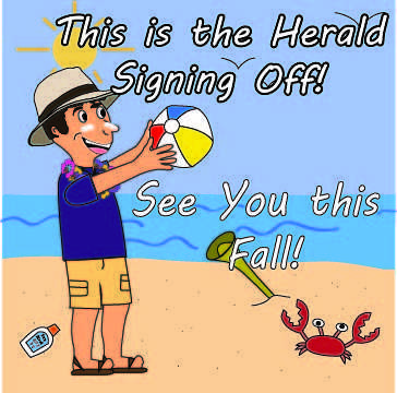 The Herald Signing Off