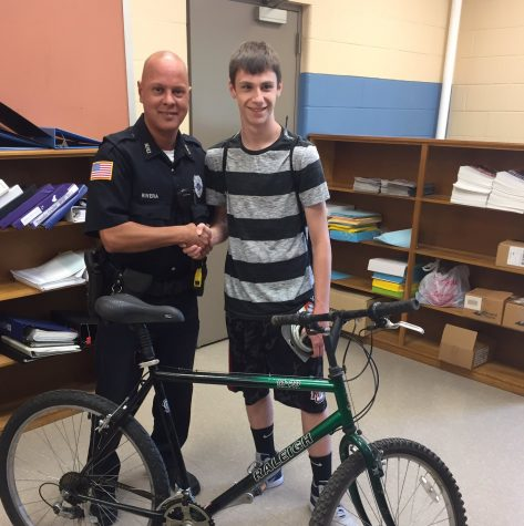 HPD, HPS, and Highland Bike Shop Team Up To Help Student