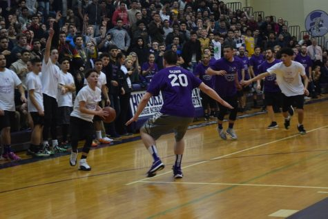 Student vs. Teacher Basketball Game Is A Big Hit