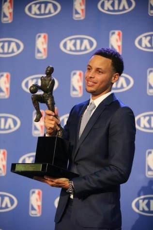 Stephen Curry Wins MVP
