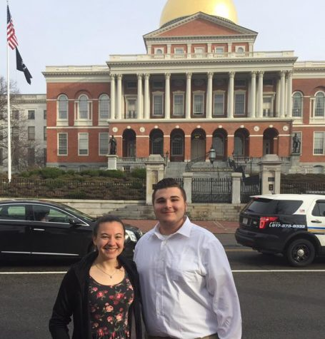Holyoke High Visits Capital for Student Government Day