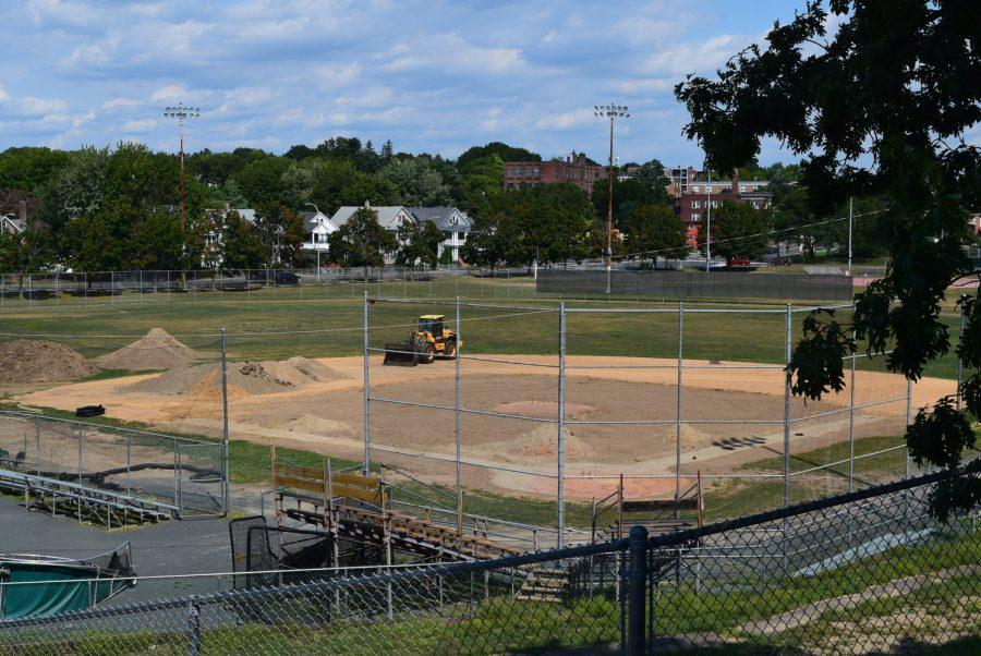 Construction is currently underway at Mackenzie Field.