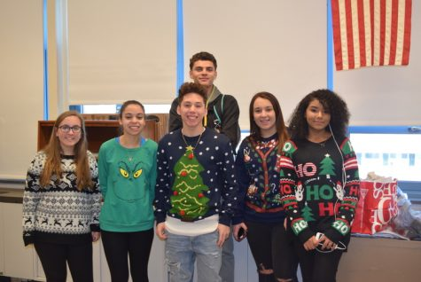 Vote For Best Ugly Christmas Sweater!