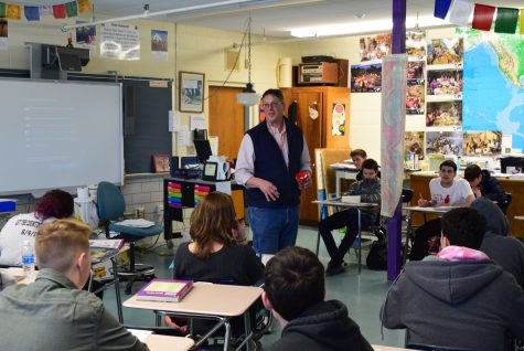 Mr. Frye's Contemporary Issues Course Tackles Real World Problems