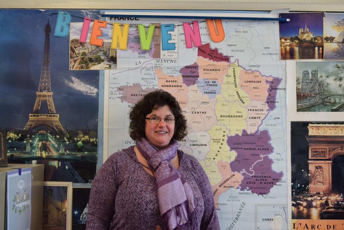 Holyoke High French Teacher Mrs. Ingrid Vega.