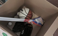 HHS Senior Runs Used Sports Equipment Drive