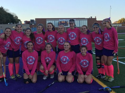 HHS Field Hockey Plays in Remembrance of Heather McMahon