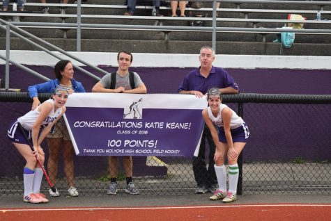 Field Hockey Captain Katie Keane Scores Her 100th Point