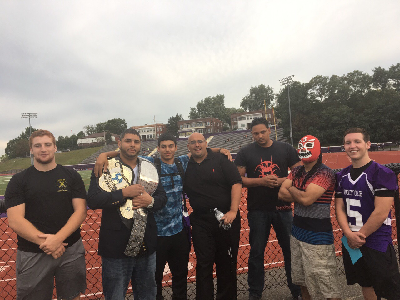 The wrestlers of New Age Old Tyme Wrestling are coming to Dean to lay the smackdown.