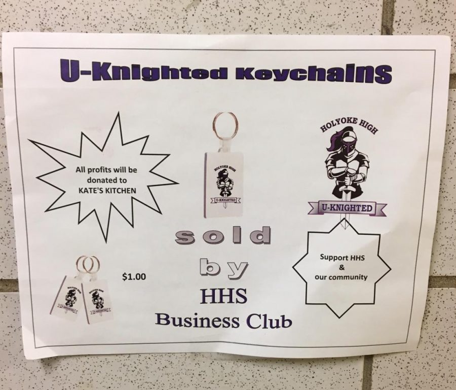 Business Club Sells U-Knighted Key Chains