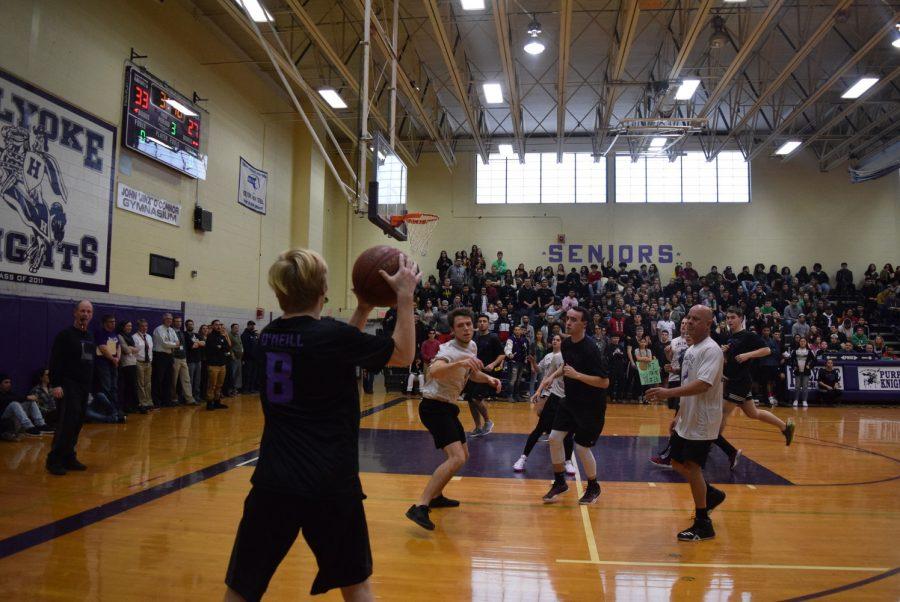 Recap: Student Teacher Basketball Game