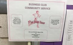 "HHS Business Club Hosts Walk to ""Defeet"" Breast Cancer"