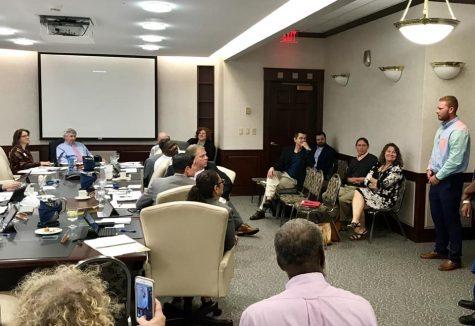 WSU Dual Enrollment Students Present to Board of Trustees