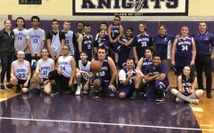 Holyoke Knights' Unified Basketball Team takes the win in their first Home Game