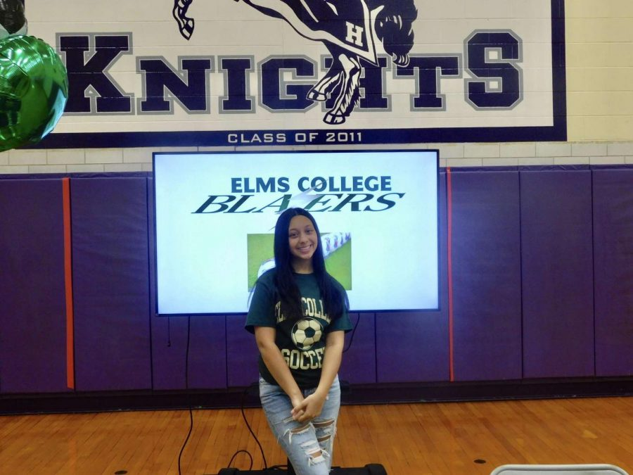 The Next Step for Amaya Olivero: Womens Soccer at Elms College