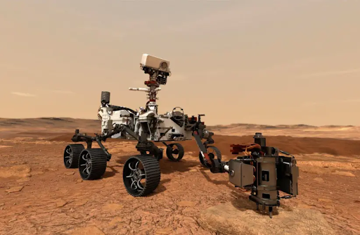 NASA Rover Perseverance Collects First Sample of Martian Rock